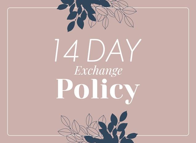 Lumikasa Exchage 14 days policy
