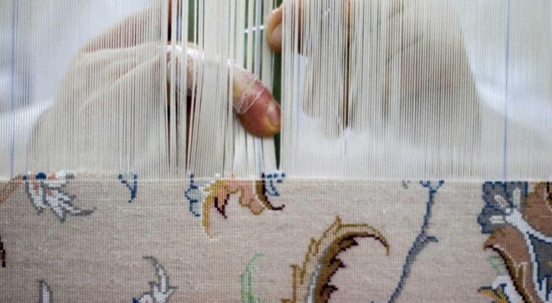 Seni Tenun Karpet Persia