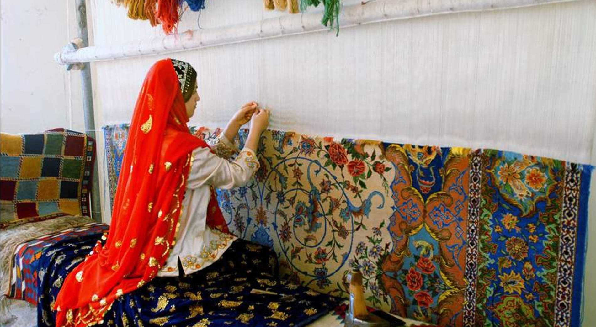 Tenun Suku Qashqa