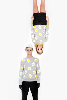EGGS PRINT JUMPER UNISEX