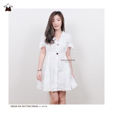 D8259 PIE BUTTON DRESS image