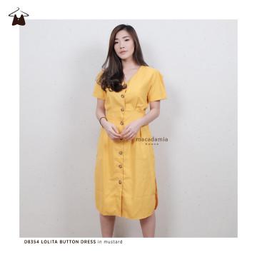 D8354 LOLITA BUTTON DRESS image