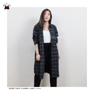 D8389 TUNIC FLANNEL LONG image