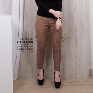 C9036 BELT OFFICE PANTS image
