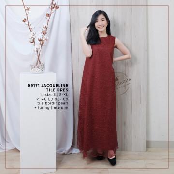 D9171 JACQUELINE TILE DRESS image