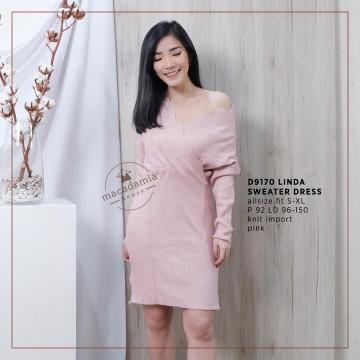D9170 LINDA SWEATER DRESS image