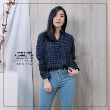 A9183 KIRTI FLANNEL TOP image