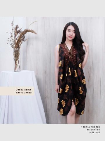 D8853 SENA BATIK DRESS image