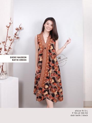 D9381 NADEEN BATIK DRESS image