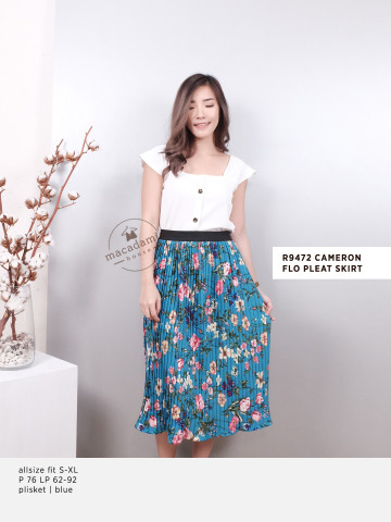 R9472 CAMERON FLO PLEAT SKIRT image