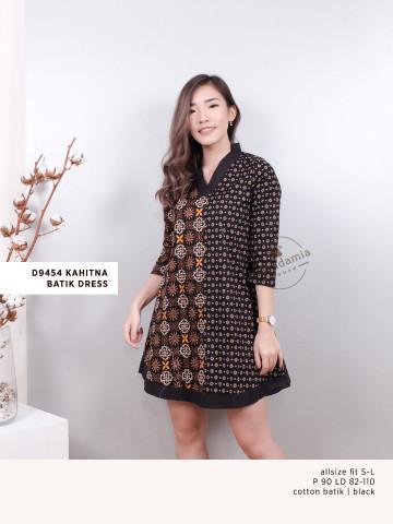 D9454 KAHITNA BATIK DRESS image