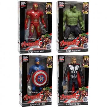 Mainan Robot Avengers Set 4 IronMan, Thor, Hulk, CaptainAmerica image