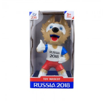 Figure Boneka Maskot Official Piala Dunia 2018 Zabivaka image