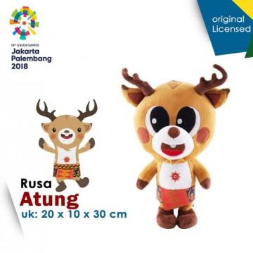 Boneka Maskot Asian Games 2018 Atung KAWAI Besar image