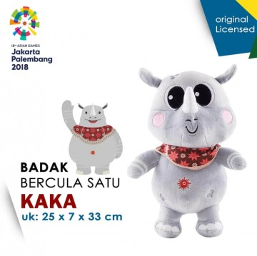 Boneka Maskot Asian Games 2018 Kaka KAWAI Besar image