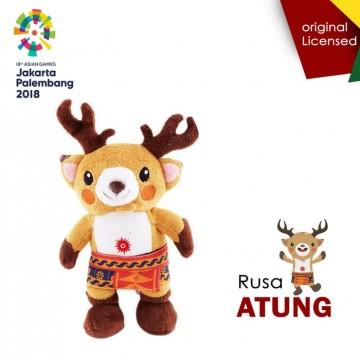Boneka Resmi Asian Games 2018 Atung Rusa Besar image