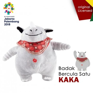 Boneka Resmi Asian Games 2018 Kaka Badak Besar image