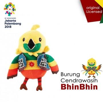 Boneka Resmi Asian Games 2018 Bhin Bhin Cendrawasih Besar image