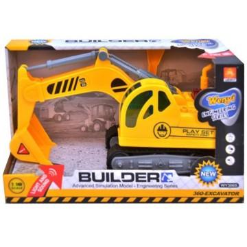 Mainan Mobil Alat Berat Eskavator Builder image