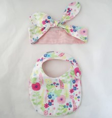 SET BIBS AND HEADBAND 002