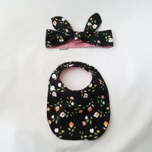 SET BIBS AND HEADBAND 007
