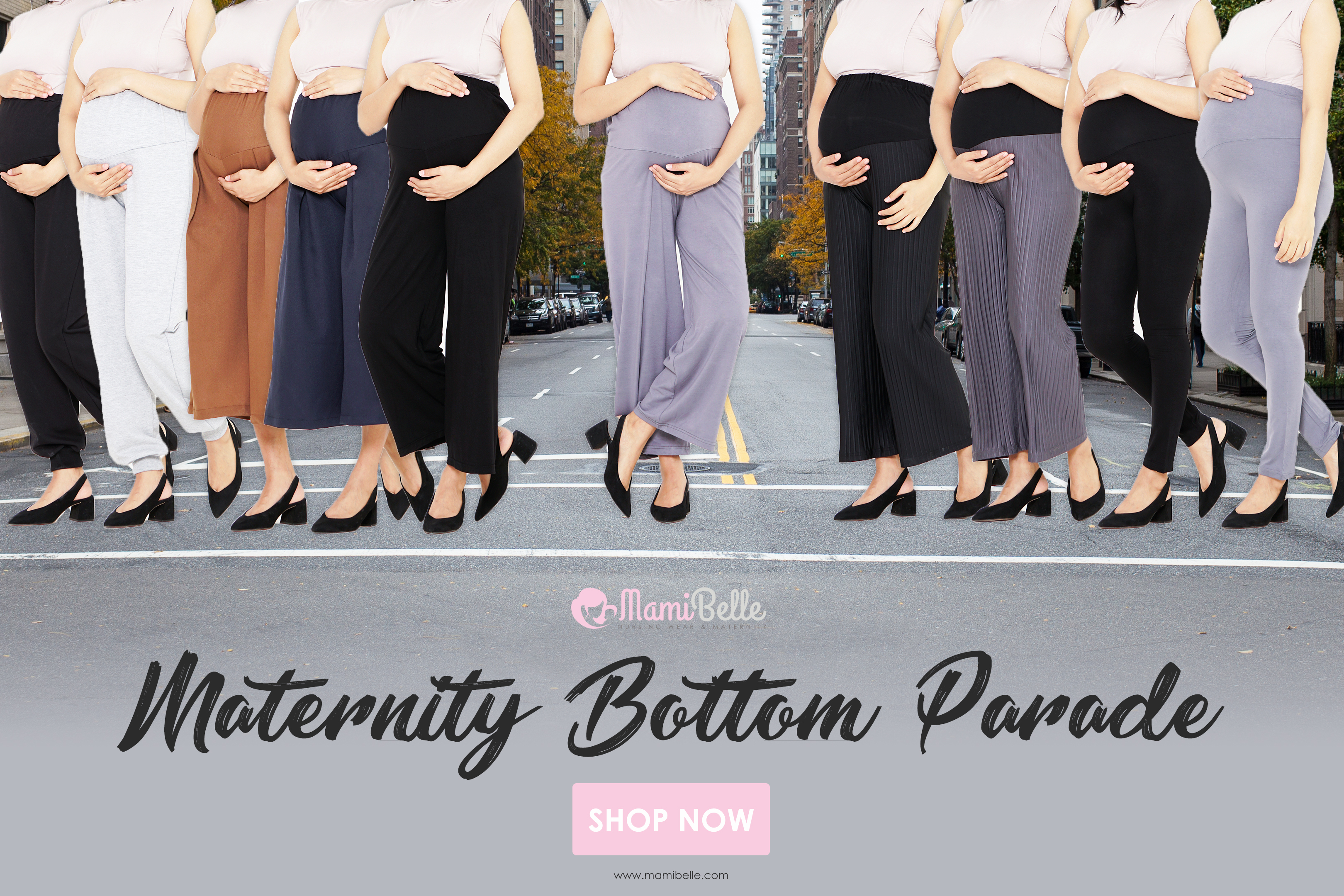 Maternity Bottom Parade is Here! image