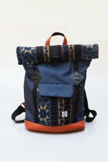 Fold Backpack Blue