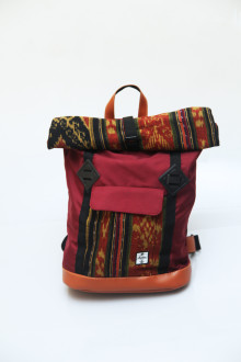 Fold Backpack Red