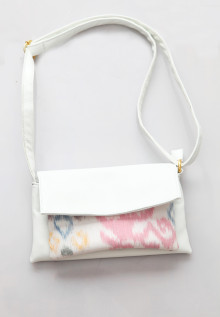 Mini Sling Bag White