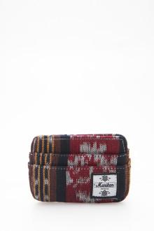Tenun Ikat Cardcase Red Black