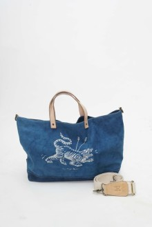 M.A.N x Iron Bees Sling Bag Blue