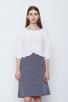 Fiona Blouse in White