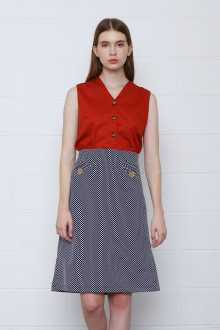 Fabrice Skirt in Polkadot