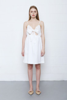 Feranda Dress in White