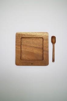 SQUARE DESSERT PLATE SET