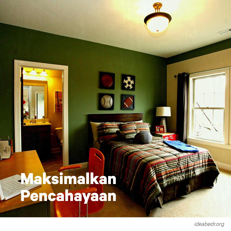 Desain Kamar Tidur Laki-Laki Remaja Minimalis