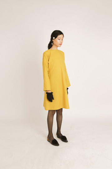 MERA YELLOW SIGNATURE DRESS