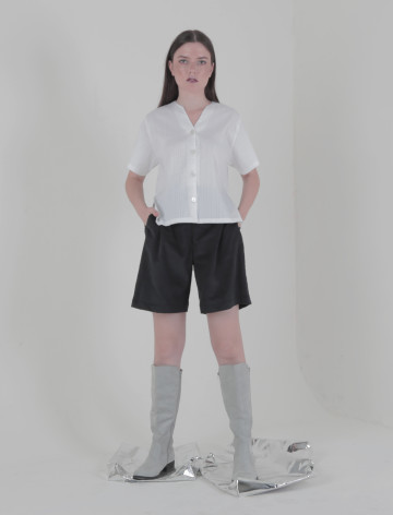 Black Liena Shorts