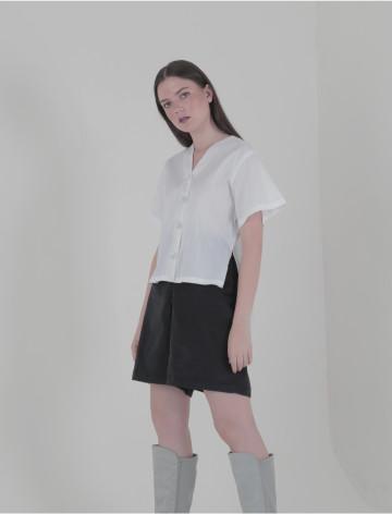 White Shan Laidback Shirt