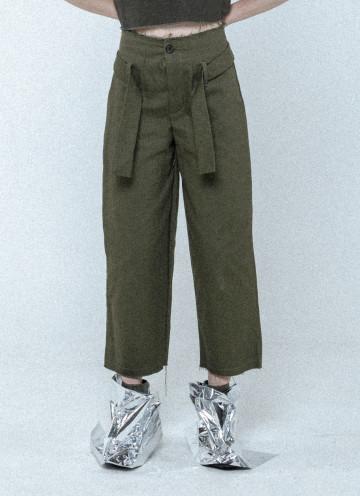 Olive Suzette Knot Pants