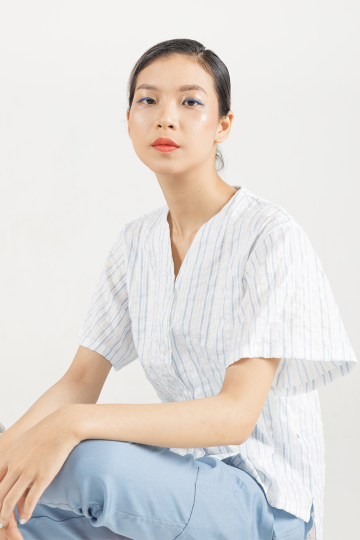 Stripes Shan Laidback Shirt