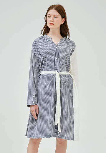 SAVI MULTI PATTERN SHIRT DRESS