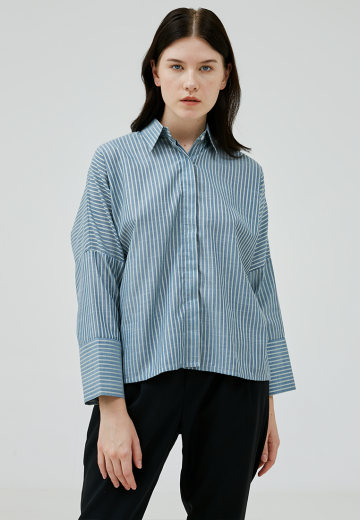 Light Blue Thanya Shirt