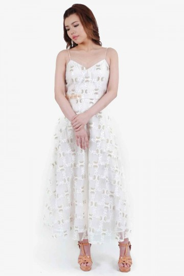 Utopia Dress White