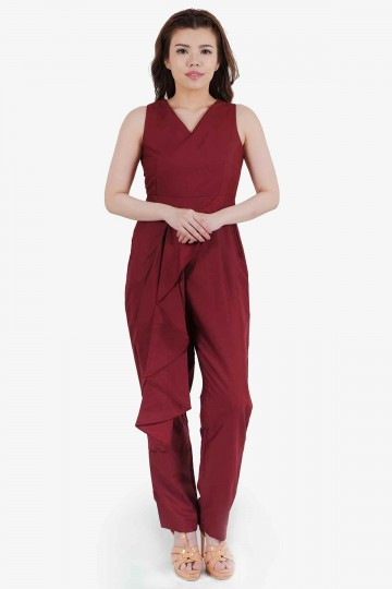 Ing Jumpsuit Red