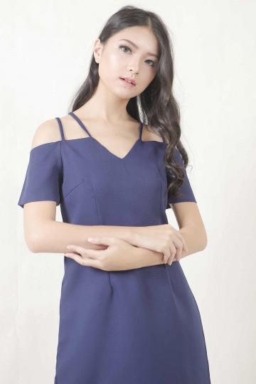 Ornela Dress Blue