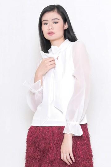 Luna Top White