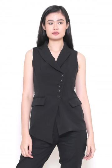 Roux Vest Black