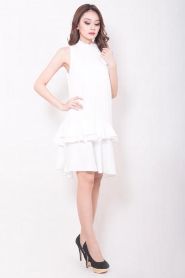 Joyce Dress White