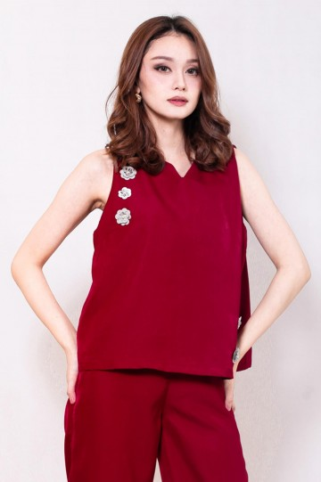 Rosy Top Red